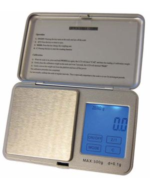Báscula de Bolsillo Electrónica 500 g