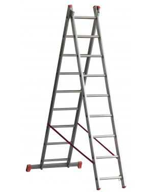 Escalera Transformable Doble  OR207 - 7+7 escalones