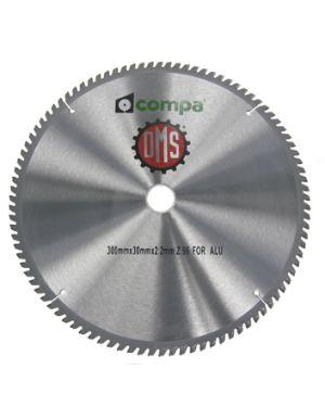 DISCO ALUMINIO  250x30 mm. Z 80 Aluminio 250 mm