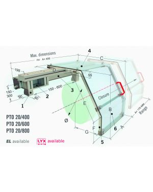 PROTECCION DE TORNO PTO 20/600