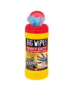 Toallitas Limpiadoras Big Wipes 80