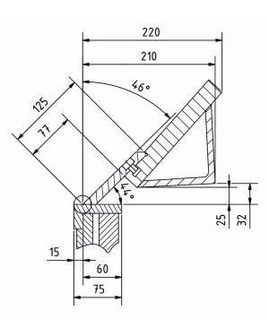Plegadora de Chapa Manual Serie FSBM 1270-20 E
