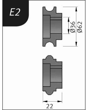 RODILLO PARA SBM140-12  TIPO- E2