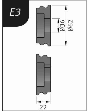 RODILLO PARA SBM140-12  TIPO-E3