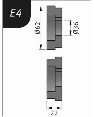 RODILLO PARA SBM140-12  TIPO- E4
