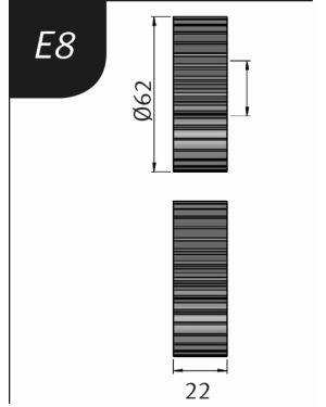 RODILLO PARA SBM140-12  TIPO- E8