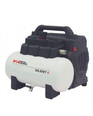 Compresor Neumático  Silent 6 - Sin Aceite