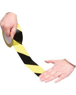 Banda Adhesiva para Pavimento Amarilla y Negra RSA335NJ - 33M