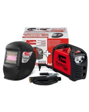 Soldadora MMA Inverter Force 165 + Casco Force 165