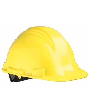 Casco con Visera Larga A79 Amarillo