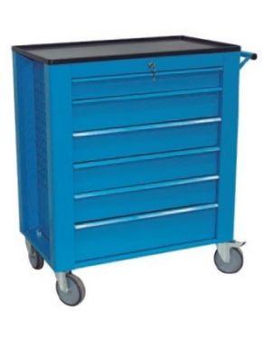 Carro para Herramientas Azul de 6 cajones MWGR84