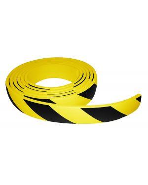 Protector de espuma adhesiva negro y amarillo PUC500NJ 5m - 60x10
